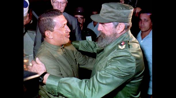 Hugo Chavez-Fidel Castro