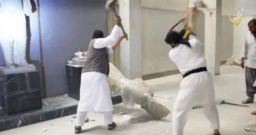 destruccic3b3n-museo-de-mosul-26-febrero-20153