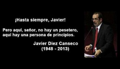 javier diez canseco