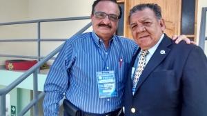 Con Luis Calderon Cuervo