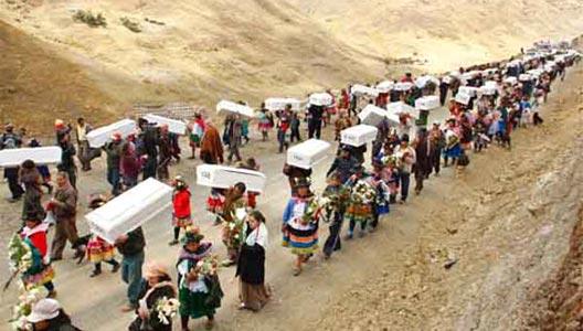 Perú. Ayacucho 1985: Una masacre brutal que el pueblo de Accomarca no  olvida – PUNTO DE VISTA Y PROPUESTA