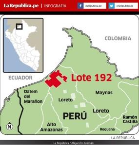 Perú:  Anuncian paro regional en Loreto por adjudicación a dedo del Lote 192