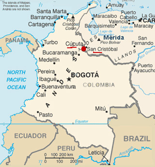 Colombia y Venezuela Juegos de Guerra Una es Siria, el otro IMAGEN
