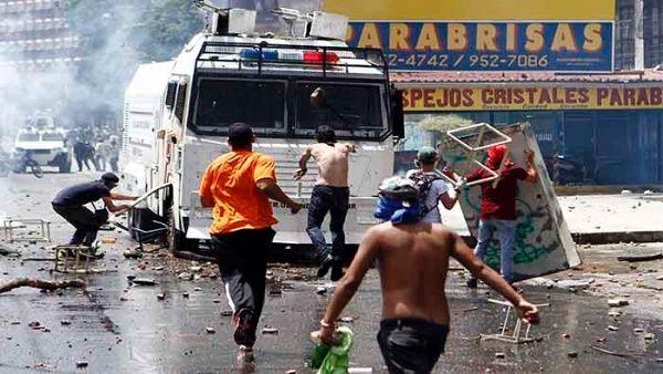 Venezuela 2002 2007 Violencia que justifica un golpe IMAGEN