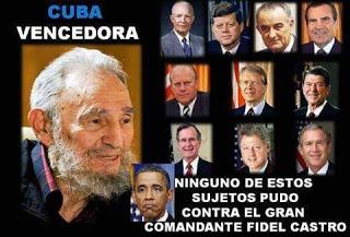 Presidentes de EEUU que no pudieron con Fidel