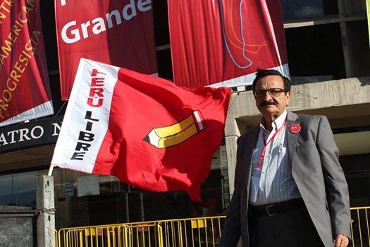 2.- En otro acto político de Perú Libre durante las giras proselistas de Vladimir Cerrón. (1)
