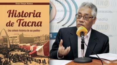 4. El historiador Efraín Choque considera necesario, antes que inversiones comercial, un desarrollo sostenible de Tacna. (1)