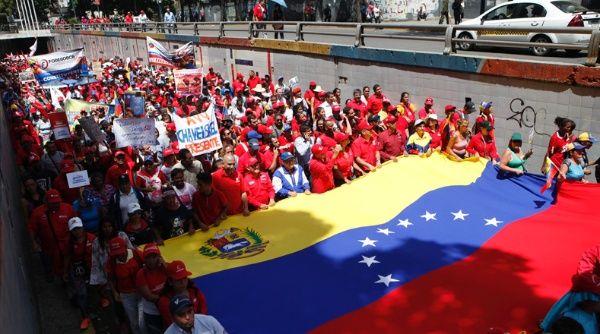 Un ensayo electoral con miles de bolivarianos IMAGEN